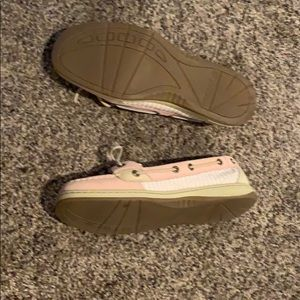Sperry Shoes - Sperry Top-Sider Pink & White. Like new!